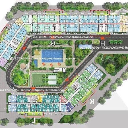 Bán căn 62m 2PN toà FGH Xuân Mai Complex Dương Nội. Giá 1,27 tỷ- Ảnh 1