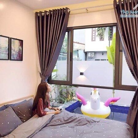 Cho Thuê Villa Hồ Bơi, Sân Vườn Cực Xinh Khu An Thượng- Ảnh 5