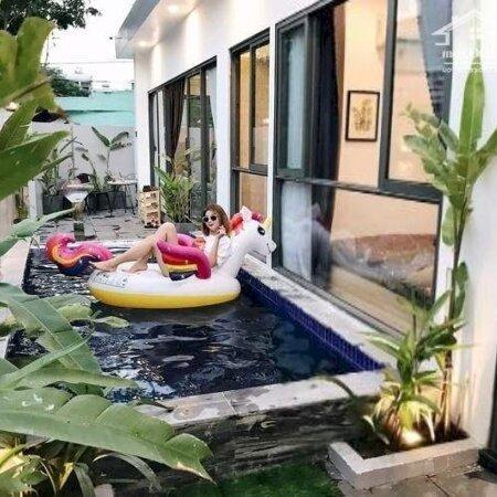 Cho Thuê Villa Hồ Bơi, Sân Vườn Cực Xinh Khu An Thượng- Ảnh 1