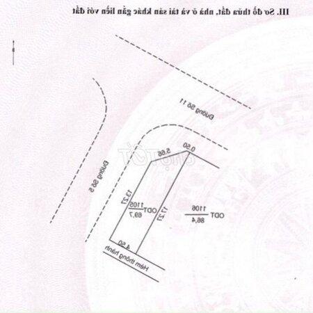 Bán Cặp Gốc Đường Số 11- Số 5. Bắc Hà Hoàng Hổ- Ảnh 1
