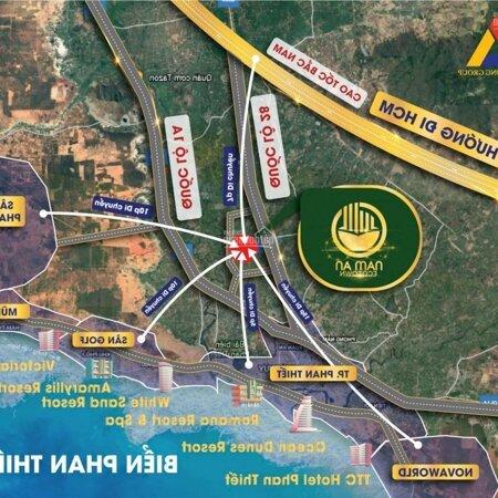 Bán Đất Nền Ven Biển Sổ Đỏ Nam An Ecotown Phan Thiết, Bình Thuận Gần Cao Tốc, Sân Bay Chỉ 11 Triệu/M2- Ảnh 2