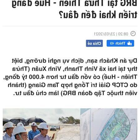 Hàng hiếm 2 lô F0 ngay bãi biển Vinh Thanh- Phú Vang- Ảnh 4
