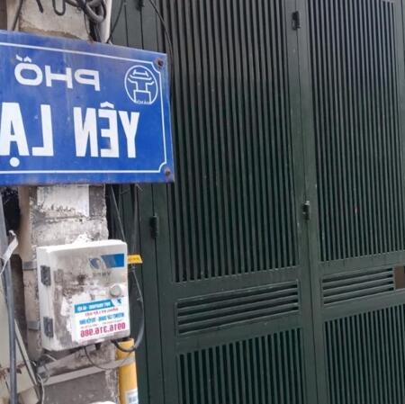 Nhà mặt ngõ ôtô, phố YênLạc (Q.HBT), 47m2, 6.4tỷ- Ảnh 1