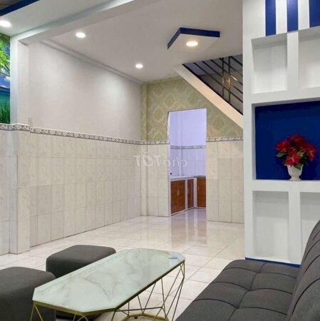 Nhà 1 Trệt 1 Lầu Mới Giá Rẻ Quận Tân Phú Gần Chợ- Ảnh 3