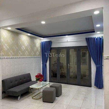 Nhà 1 Trệt 1 Lầu Mới Giá Rẻ Quận Tân Phú Gần Chợ- Ảnh 2