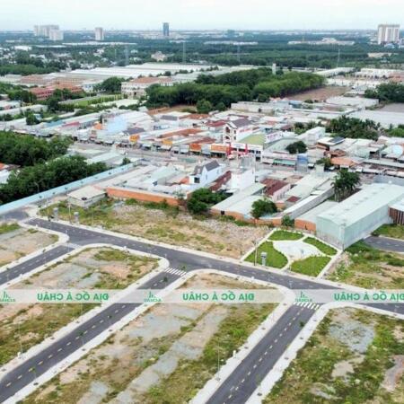 Cần bán đất , shr , thổ 100% ngay khu dự án nhà ở Nhật Huy, Tx Bến Cát- Ảnh 2
