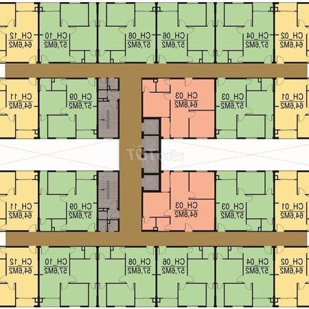 Căn Hộ 65M2 Tecco Green Nest, Quận 12- Ảnh 6