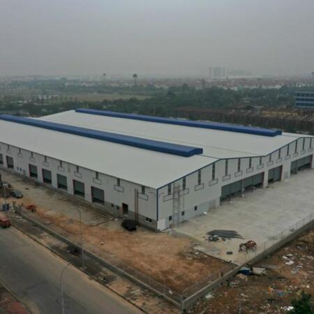 Cho thuê 6400m2 kho xưởng giá 75k, gần chợ Hải Bối, Cầu Thăng Long, Đông Anh, Hà Nội- Ảnh 1