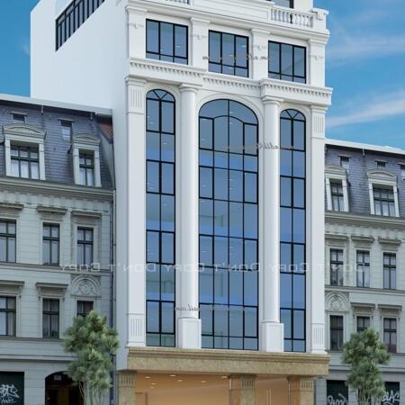 Cho thuê tòa nhà văn phòng 200mx 8 tầng, phố Thụy Khuê, Tây Hồ- Ảnh 1