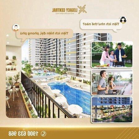 Chung Cư Legacy Central 40M² 1 Phòng Ngủgiá Rẻ Bất Ngờ- Ảnh 3
