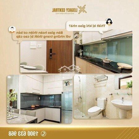 Chung Cư Legacy Central 40M² 1 Phòng Ngủgiá Rẻ Bất Ngờ- Ảnh 1